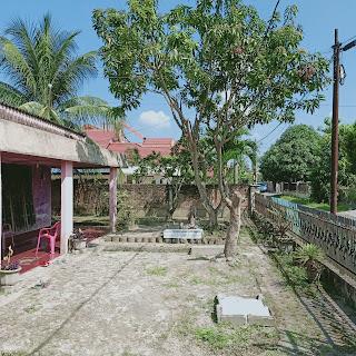 Halaman Depan Rumah Second - Hadap Timur - Jual Tanah Aja - Lokasi Jl. Perwira Gatot Subroto Medan Sumatera Utara