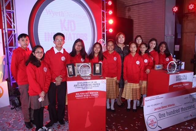Filipino Students Awarded by Wyeth