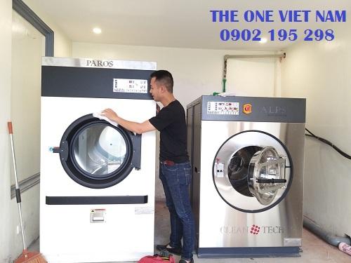 Bàn giao thiết bị giặt là công nghiệp tại Khánh Hòa