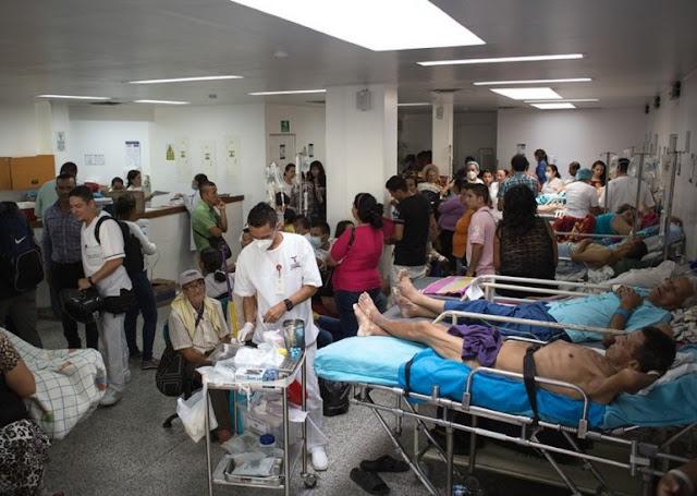Trabajadores de la salud en Venezuela irán a protesta nacional por crisis en el sector
