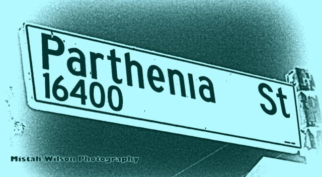Parthenia Street, North Hills, California by Mistah Wilson