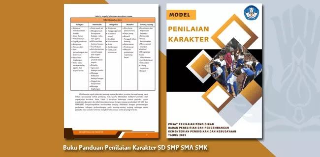 Buku Panduan Penilaian Karakter SD SMP SMA SMK dan Sederajat