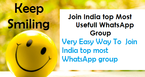 Easy Way To Join India top Most Usefull WhatsApp Group