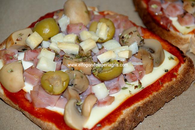 Pizza sándwich