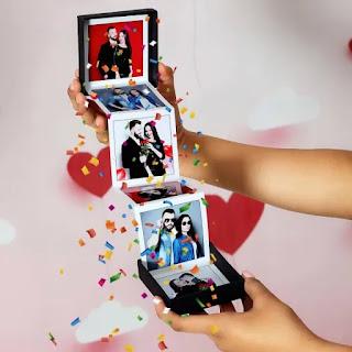 Album Foto Tangga Sebagai Kado Valentine