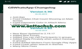 GBWatsApp v6.95 Features