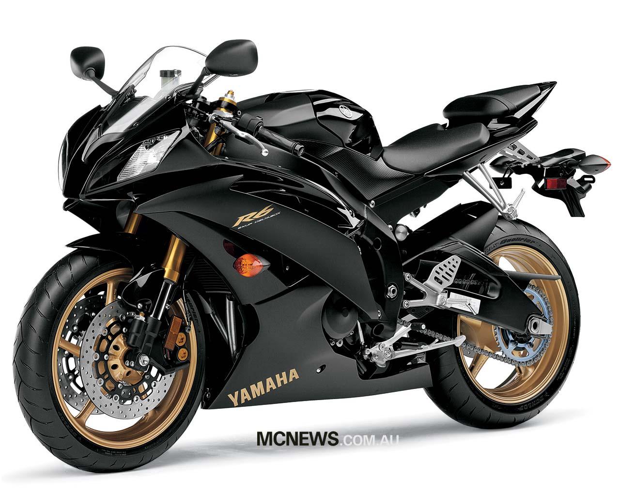 Fast Bikes Online Yamaha R6 Black