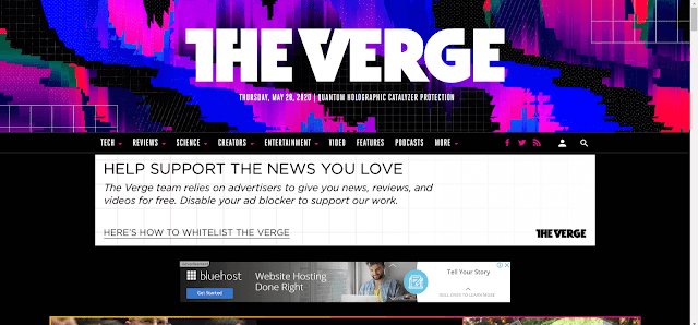 موقع theverge