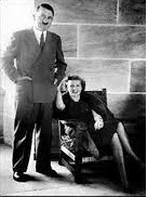 Hitler with girlfriend/wife Eva Braun