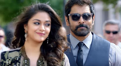 Saamy Square Movie Looks, Images, Vikram and Keerthy Suresh Looks, images from Saamy Square