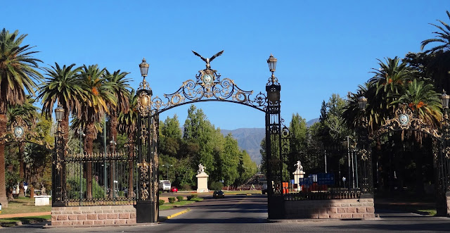 Parque San Martín em Mendoza