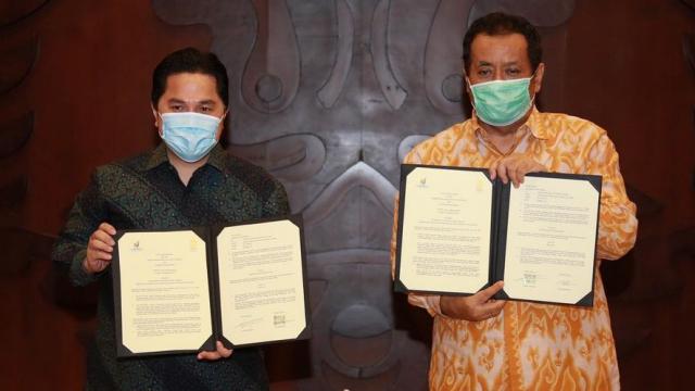 Erick Thohir yang Paling Bertanggung Jawab atas Rangkap Jabatan Rektor UI Ari Kuncoro