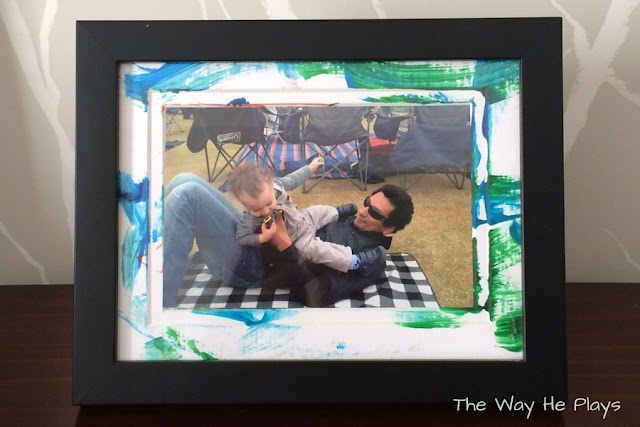 Painted Picture Frame Mat