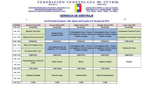 APURE: Curso nacional de árbitros llega a San Fernando.