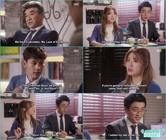 all decided ji wook law firm name -  Suspicious Partner: Episode 11 & 12 korean drama