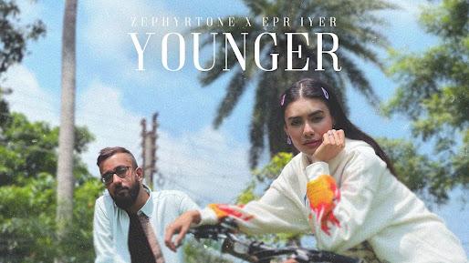 ZEPHYRTONE X EPR IYER - YOUNGER SONG LYRICS | ADIACOT | 2021 Lyrics Planet