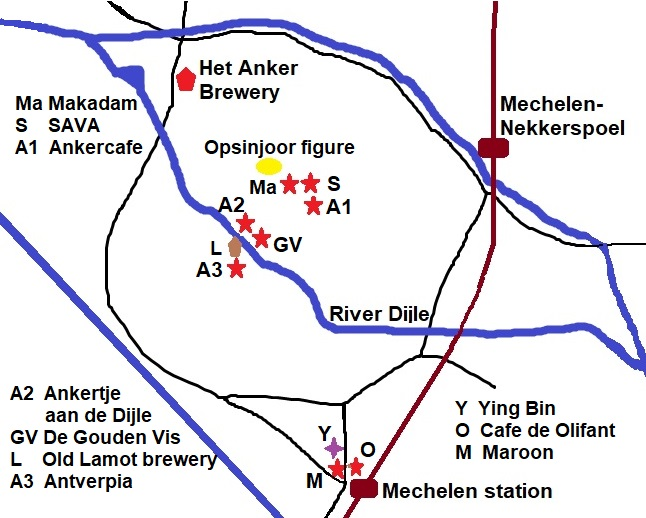 Beer Europe: Mechelen meander - Sat 23 March 2019