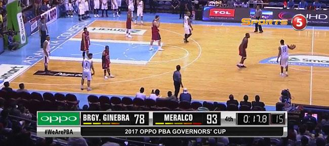 Meralco def. Ginebra, 93-78 (REPLAY VIDEO) July 23