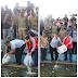 Danrem 032/ Wbr  Mendampingi Wagub Sumatra Barat   Menebarkan  Ikan Puyu dan Penebaran BIOS 44 di Danau Cimpago