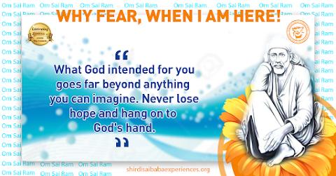 Hope - Sai Baba Dwarkamai Pose Painting Image