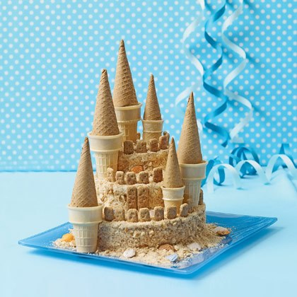Towering Sand Castle Cake Recipe
