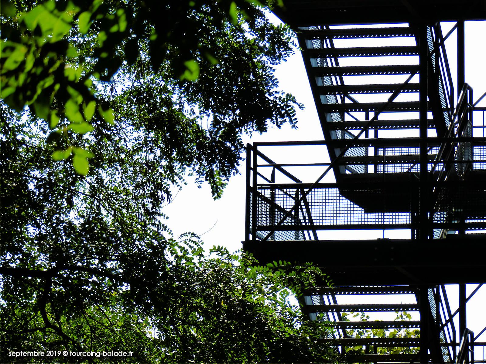 Escaliers Secours EHPAD Acacias Tourcoing 2019