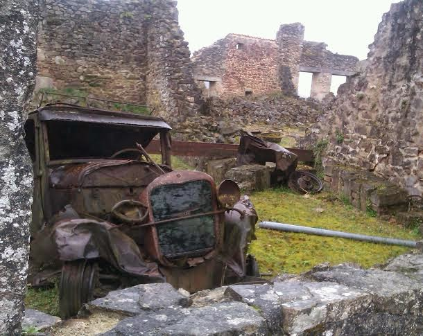 http://www.zazzle.co.uk/abandoned_car_at_oradour_sur_glane_note_card-137346680837896862?rf=238977740256437049