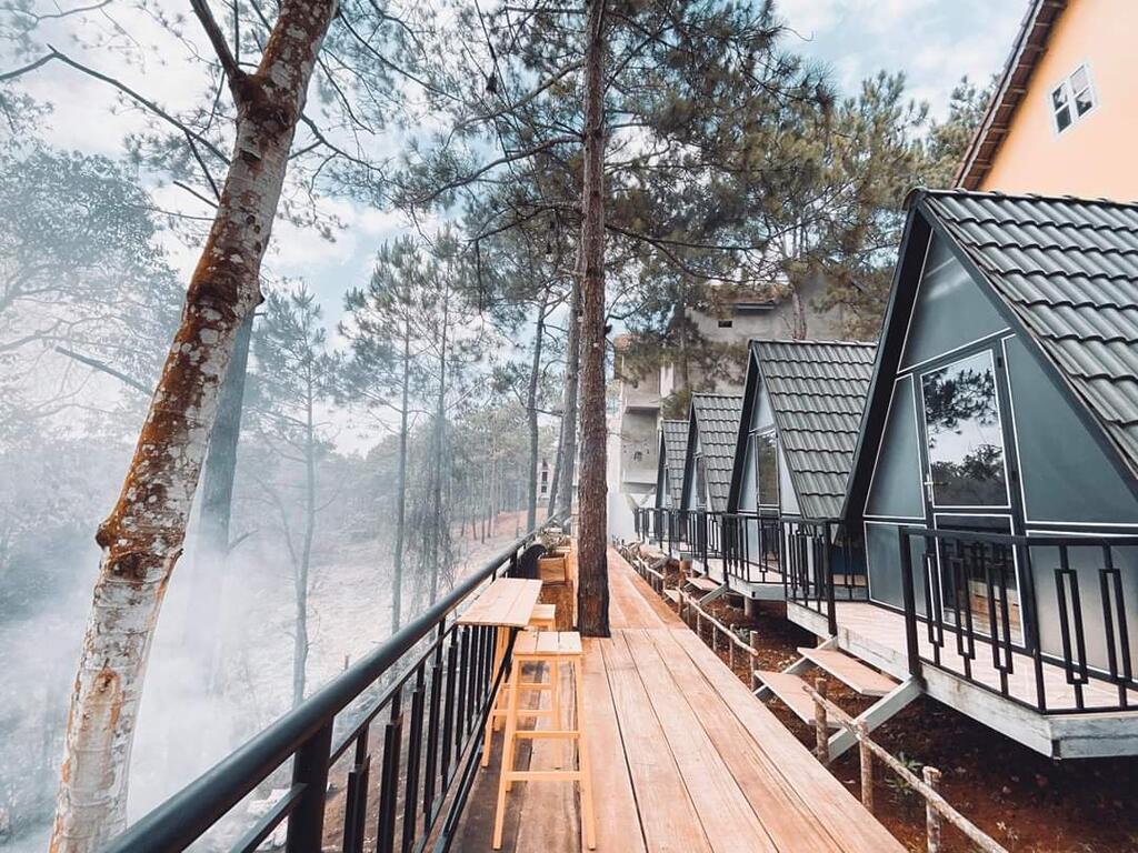 Một homestay tại Măng Đen