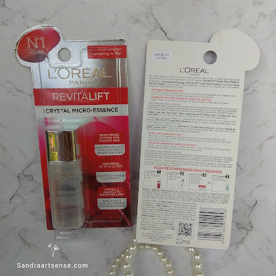 Review L'Oreal Revitalift Crystal Micro-Essence
