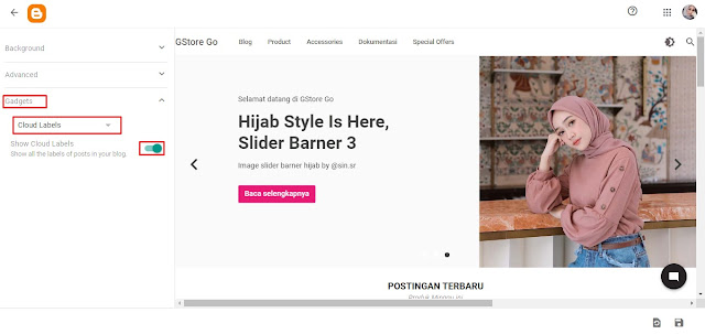Dashbor Blogger: Merubah Template Blogger Warna, Gambar, Jenis Font & Widget