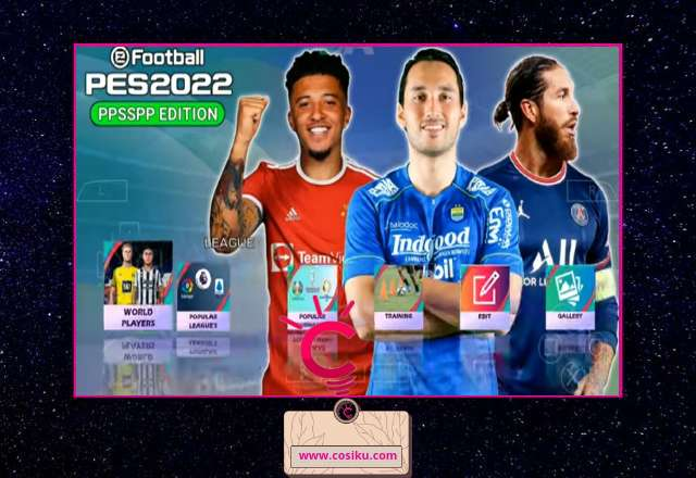PES 2021-2022 Ppsspp Edition Liga Indonesia New Update Transfer & Jersey