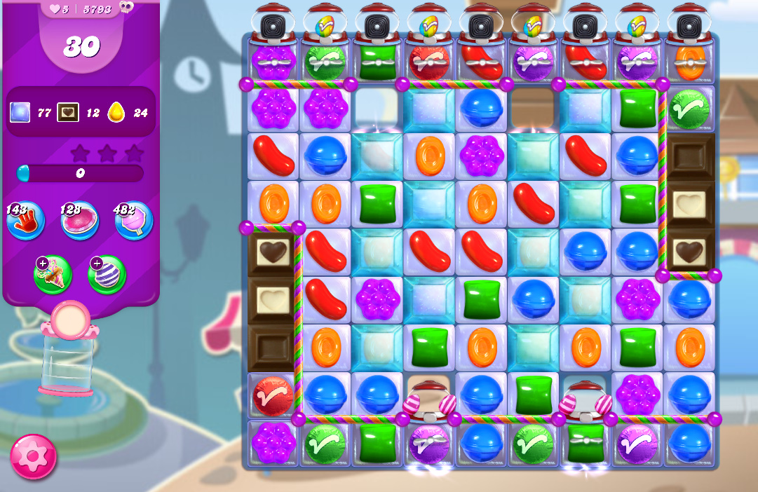 Candy Crush Saga level 5793