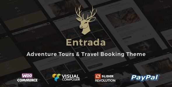 Entrada v3.7.8 - Chủ đề Đặt tour du lịch