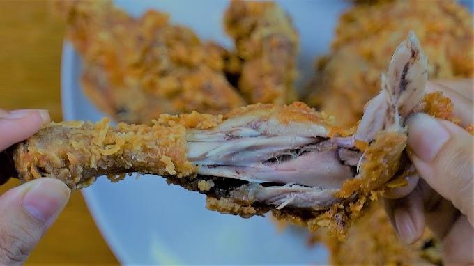 Resep Ayam Goreng Spicy Crispy Tahan Lama Tanpa Pengawet