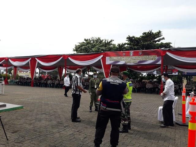 Lakukan Simulasi, Polda Lampung Siap Amankan 48 Pilkakon Serentak di Pringsewu Tahun 2021