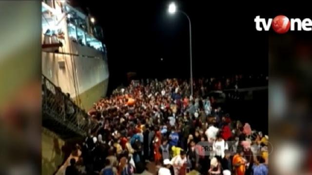 Video Warga Natuna Eksodus Keluar Pulau Gara-gara Corona
