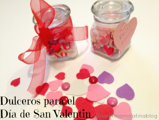 Dulceros para el Dia de San Valentin