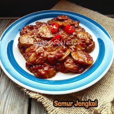Resep Semur Jengkol Sederhana Nikmat Enak By @endahpalupid