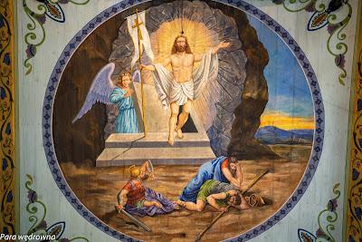 Malowidła wewnątrz cerkwi