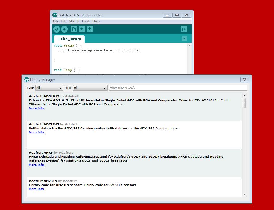 Arduino Code Library
