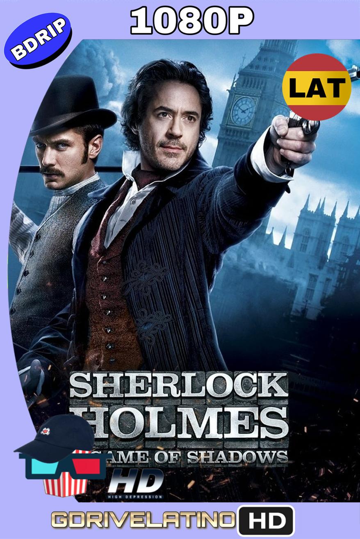 Sherlock Holmes 2: Juego de Sombras (2011) BDRip 1080p (Latino – Inglés) MKV