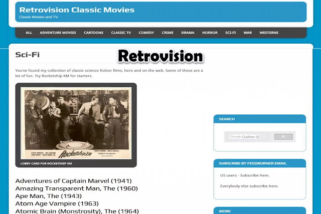 Retrovision : Watch TV Online Free Streaming