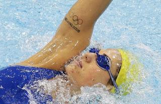 Tatuagens dos atletas em Londres - Fotos