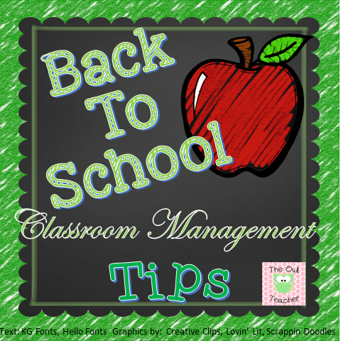 Whether you teach Kindergarten, 1st, 2nd, 3rd, 4th, 5th, or 6th grade - you're going to LOVE the back to school classroom management tips included in this blog post! There are five real life tips that will help ANY teacher be successful in those first few days of school!