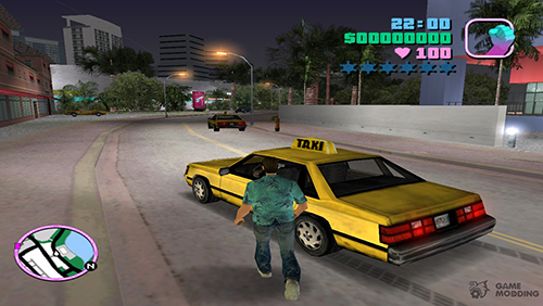 Game thủ buộc phải cho nổ tung những xe taxi gamer thấy được