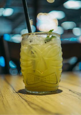 عصير الليمون بالنعناع بدون حافض