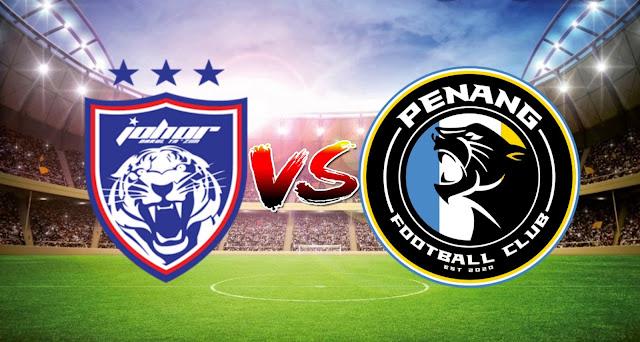 Live Streaming JDT vs Penang FC 9.3.2021 Liga Super