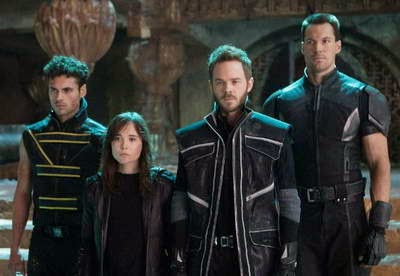 Shawn Ashmore, Ellen Page, Daniel Cudmore and Adan Canto in X-Men Days of Future Past - a review