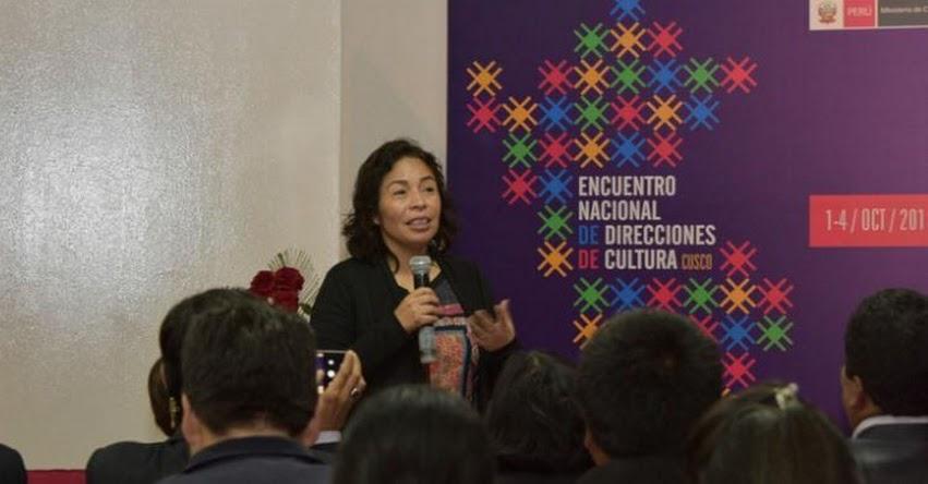 Ministra de Cultura, Patricia Balbuena, visitó región Cusco para impulsar atención a poblaciones indígenas