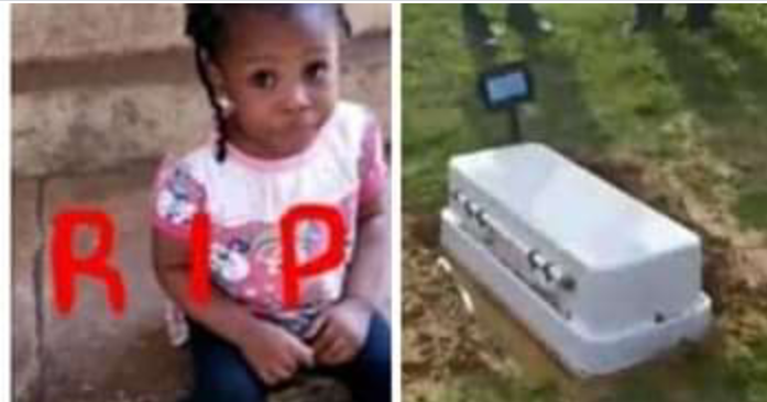 Little angle poison to death by unknown person God have mercy.